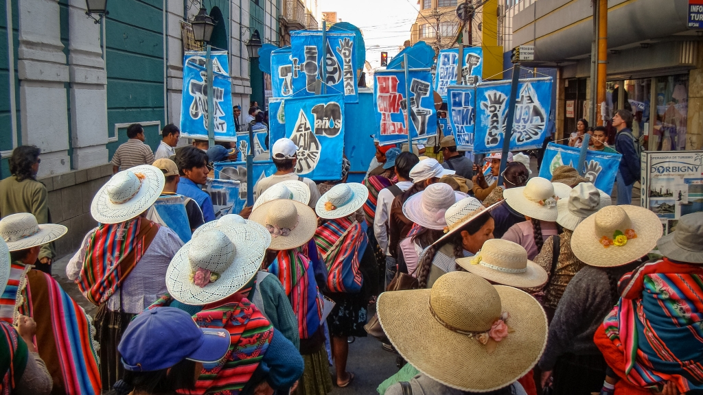 10th anniversary of the Water War uprising in Cochabamba, Bolivia - Mona Caron