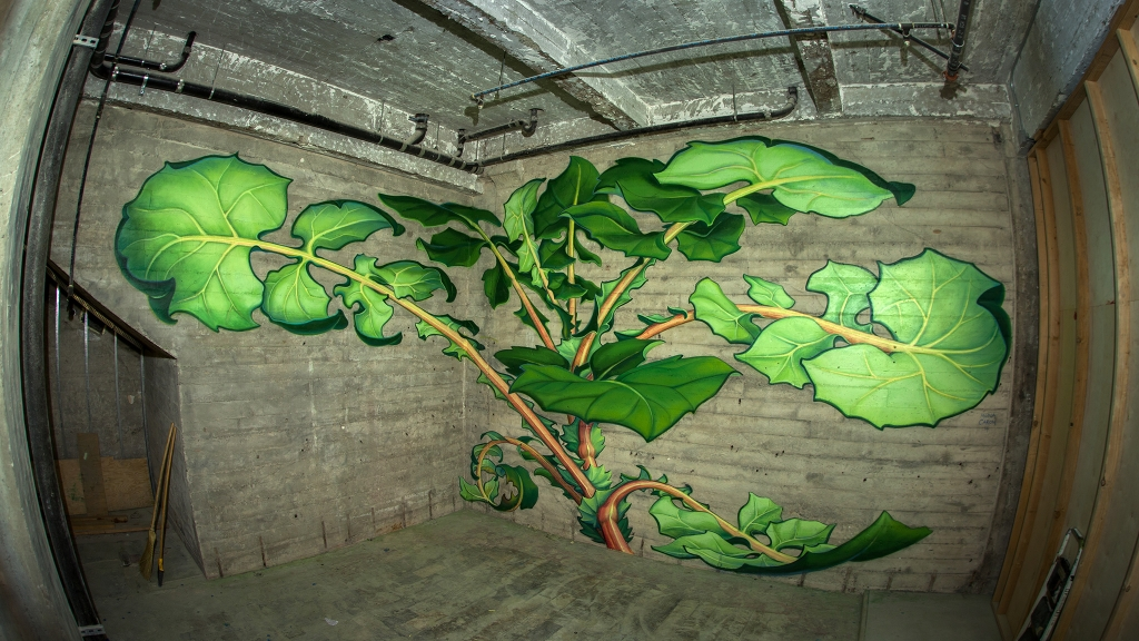 Mural by Mona Caron