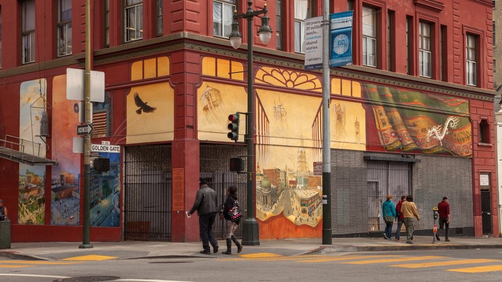 Windows Into the Tenderloin by Mona Caron