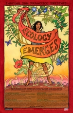 Ecology Emerges Poster by Mona Caron