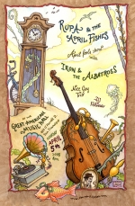 April Fool's Show Poster for Rupa and the April Fishes by Mona Caron