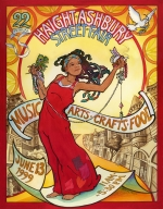 Poster for the 1999 Haight Ashbury Street Fair by Mona Caron
